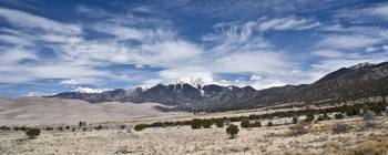 Sangre De Christo At Great Sand Dunes