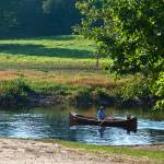 """Canoe near Concord River"" by SamSherman"