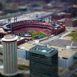 """Busch Stadium - St. Louis In Miniature"" by tomgehrke"
