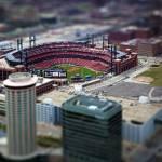 """""""Busch Stadium - St. Louis In Miniature"""" by tomgehrke"""