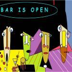 """""""Bar is Open"""" by skyetaylorgalleries"""