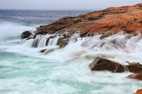Seas on the Schoodic Point, Acadia National Park