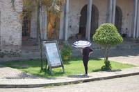 Woman with Umbrella in Portabelo