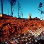 """""""Oakland Firestorm Landscape"""" by worldwidearchive"""