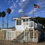 """Long Beach Lifeguard Station"" by nobodyhikesinla"