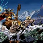 """The Epic Battle of Thor"" by Comicbook"