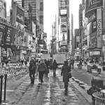 """Times Square Monochrome"" by DaveScott"