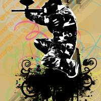 Paintball Art Prints & Posters by Harley Sutton