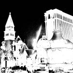 """Vegas Black and White"" by james4july"