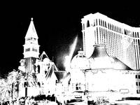 Vegas Black and White