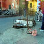 """""""Ice blocks for sale on streets of Jaipur, India"""" by kookoodoll"""