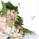 """rocky ligurian coastline"" by patriziadonaera"
