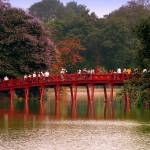 """Bridge At Hoan Kiem Lake"" by ButchOsbornePhotography"