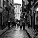 """Rainy Florence Street"" by raetucker"