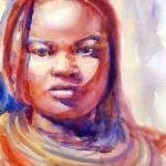 """day005-himba-woman"" by YevgeniaWatts"