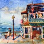 """Lahaina, Hawaii"" by YevgeniaWatts"
