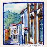 """Arucas, Canary Islands"" by YevgeniaWatts"