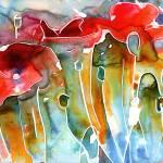 """""""poppy field"""" by YevgeniaWatts"""