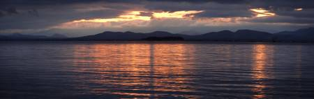 Lake Champlain Panorama