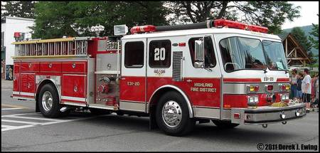 Highland Fire Department Engine 31-20