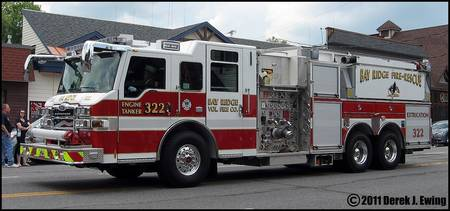 Bay Ridge Volunteer Fire Co. Engine/Tanker 322