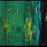"""""""Acrylic Wood on Black Tiles"""" by angelstudio54"""