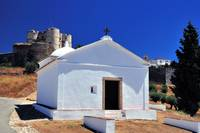 Evoramonte chapel and castle