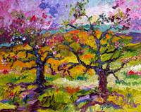 Spring in Provence Oil Painting Ginette