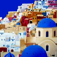 Santorini Art Prints & Posters by Alan Dixon