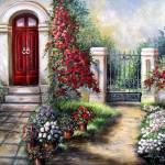 """""""Gate to the hidden garden"""" by Unique_designs"""