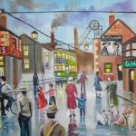 """Real Ales Pub oil painting"" by GORDONBRUCEART"