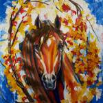 """Firefall Horse"" by ArtlbyYelena"