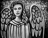 The Guardian Angel - In Black and White
