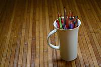 color in the mug