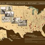 """New Deal Communities Map"" by Vicki_S_Vaden"