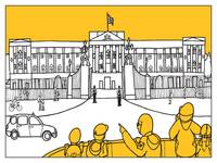 Sketches of London 'Buckingham palace'