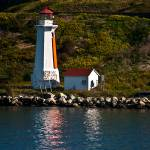 """Small Lighthouse along the coast"" by SamSherman"