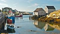 Peggy's Cove Harbor