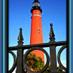 """""""Lighthouse and Fence"""" by ChrisCrowley"""