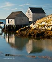 Peggy's Cove Reflections
