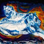 """Blue Lions"" by ralphnelsen"
