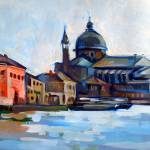 """Venetian Shoreline"" by painterflipper"