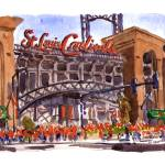 """World Series Game 7, 10/28/2011"" by michaelandersonartprints"