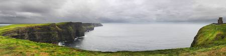 Storm Approaches Cliffs of Moher