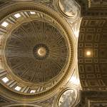 """Inner dome of Saint Peters Basilica"" by IanMiddletonphotography"