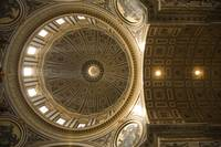 Inner dome of Saint Peters Basilica