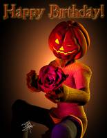 Jack - Halloween Happy Birthday