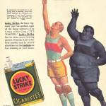 """LUCKY STRIKE CIGARETTES"" by homegear"