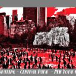 """Central Park Poster"" by DaveScott"