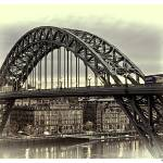 """Tyne_Bridge_01_Vint"" by plantaen"